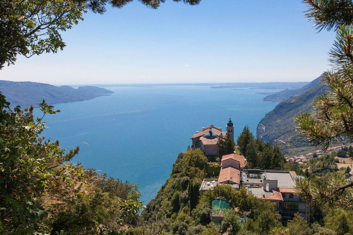 Vistas desde el Santuario Di Montecastello