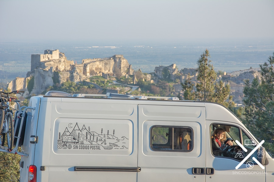 Vistas panorámicas Castillo de Baux