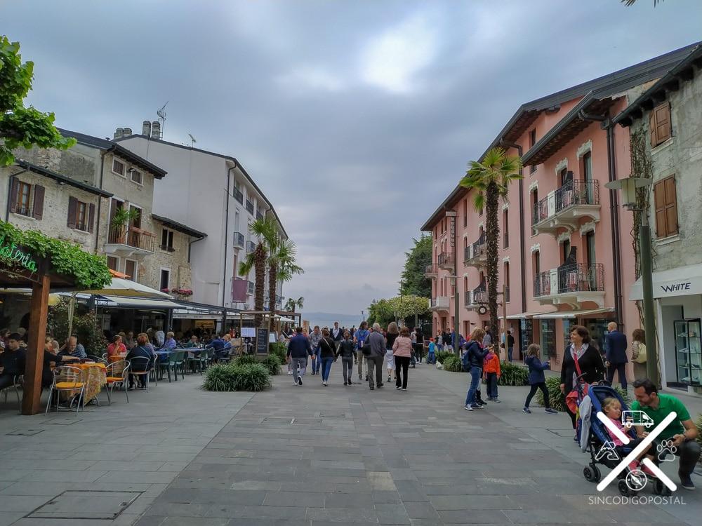 Calle principal de Sirmione