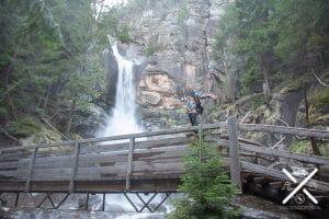Imagen de una de las Cascadas