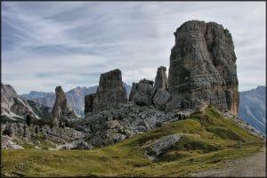 Trekking por Cinque Torri