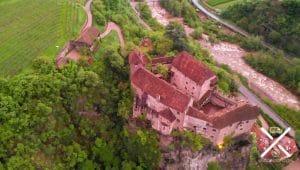 Fortaleza a las afueras de Bolzano