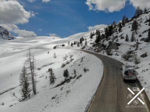 En furgo camper por los Dolomitas