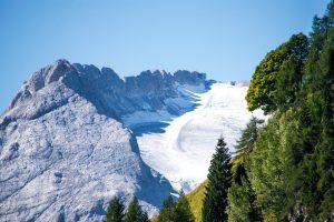 El Glaciar de Marmolada