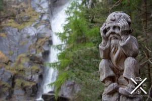 Gnomo en la cascada :)