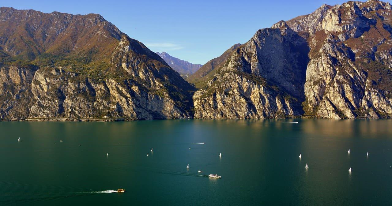 Lago di Garda en verano