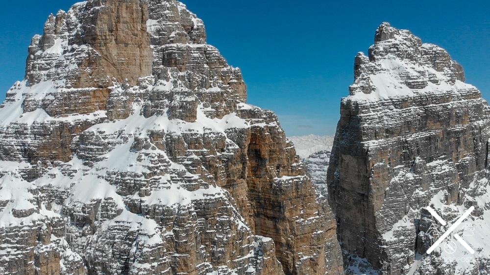 Tre cime di Lavaredo desde el dron