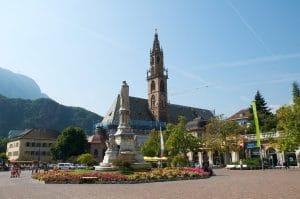 Plaza principal de Bolzano