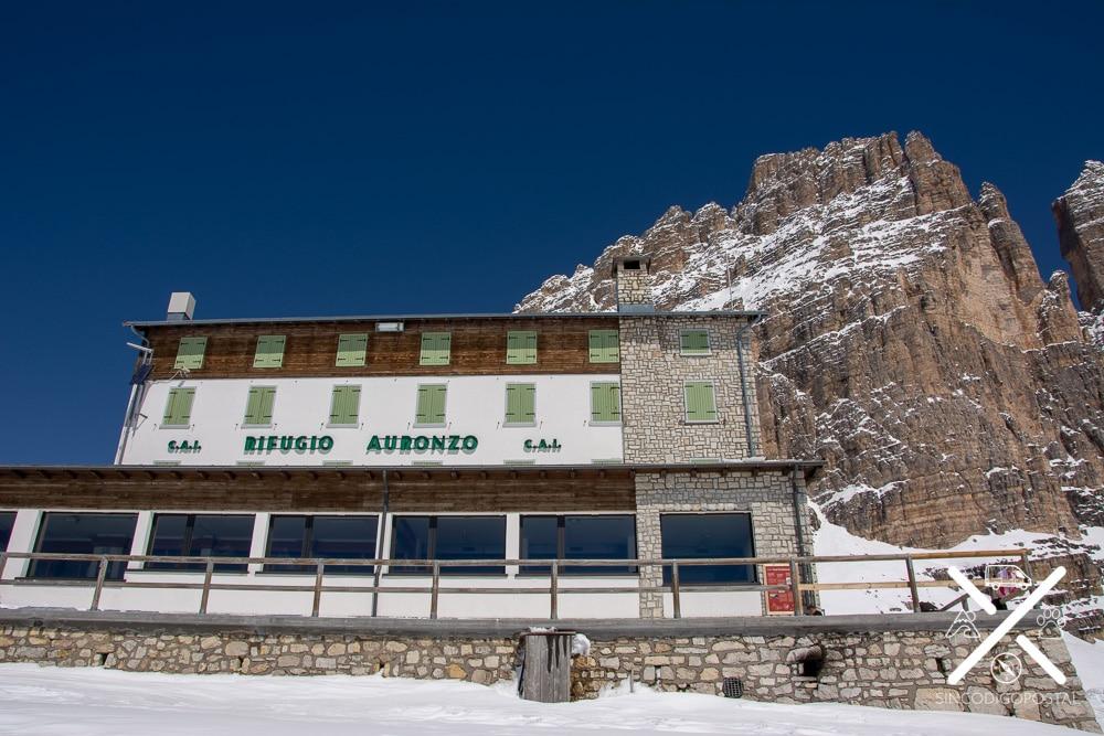 El refugio de Auronzo