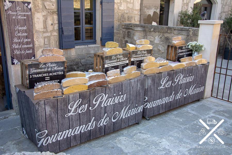 tienda bizcocho artesanal en Baux de la Provence
