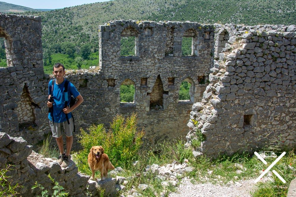Fortaleza del pueblo de Pocitelj