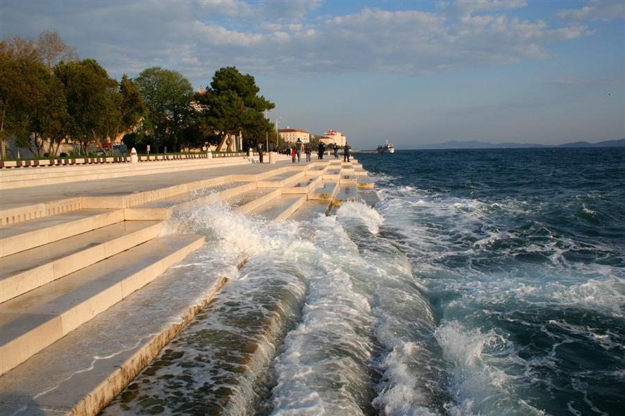 Órgano de Mar en Zadar