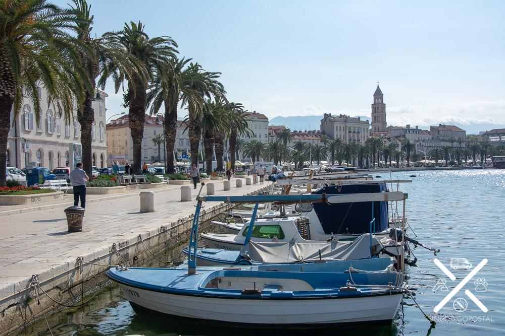Paseo marítimo de Split