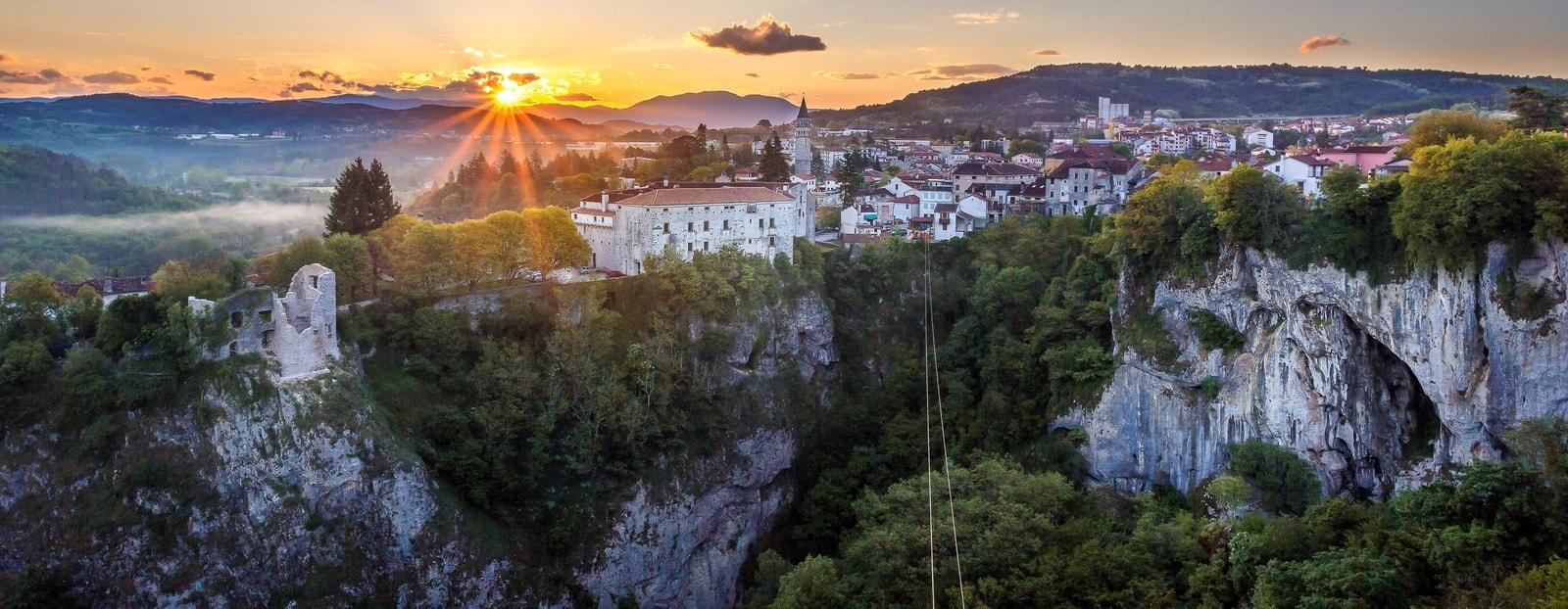 Pazin en Croacia