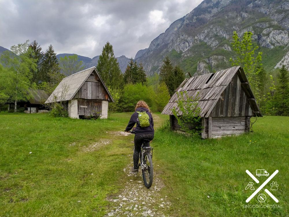 Ruta en bici por el Lago Bohinj