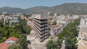 Torre Sniper, torre desde la que disparaban los francotiradores