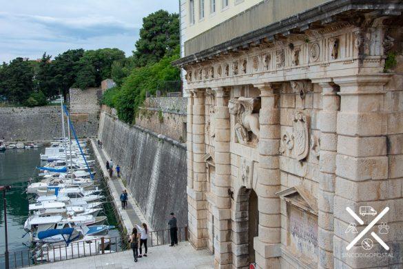 Vistas desde Perivoj Kraljice Jelena en Zadar