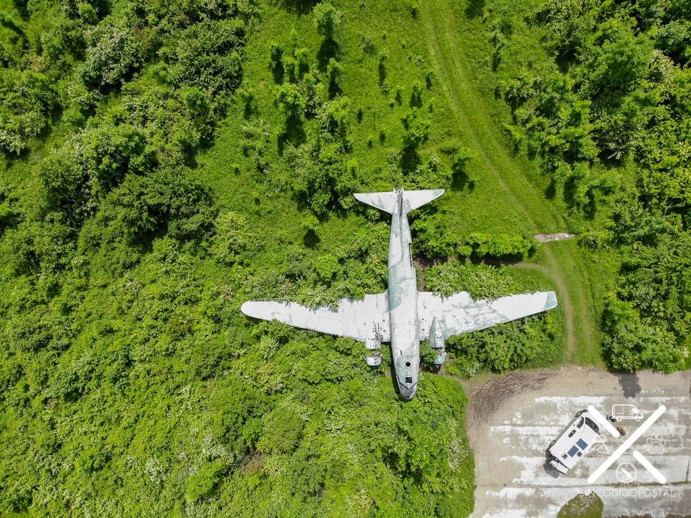 Avión de la base aérea de Zeljava