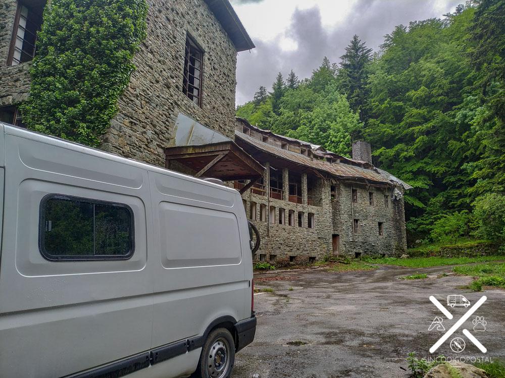 Exterior de la Villa Izvor