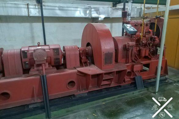 Generador eléctrico del bunker