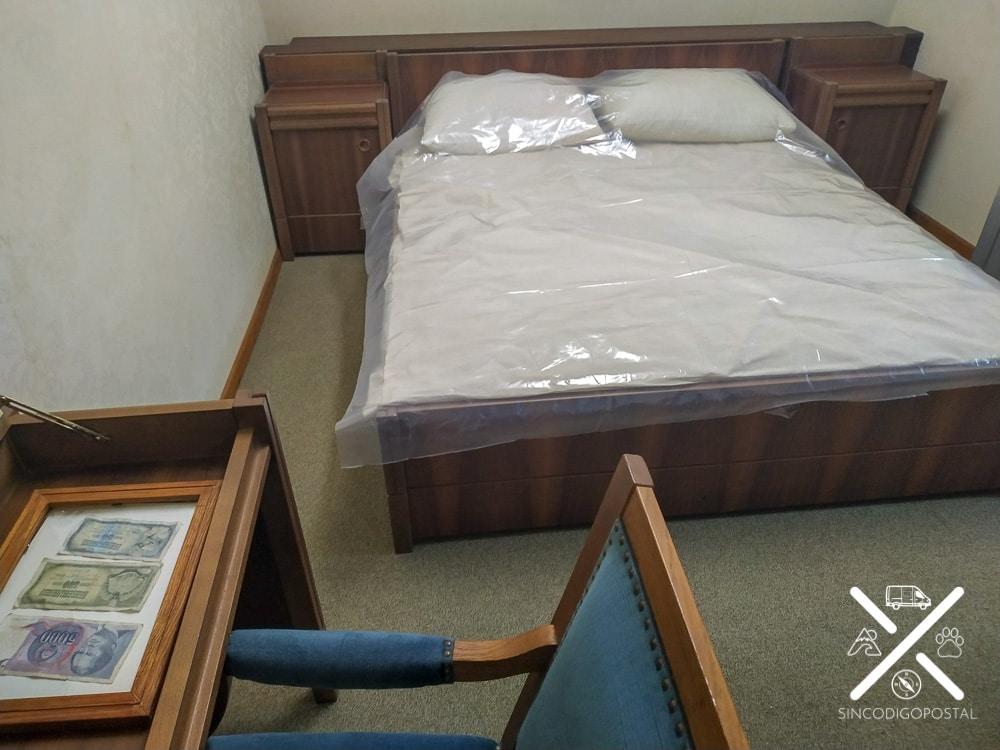 La habitación de Tito, la mejor del bunker
