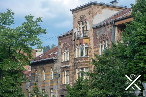 Antiguos edificios de Sarajevo