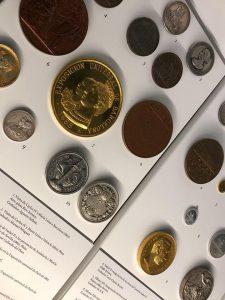 Colección dentro del Museo de la Moneda en Madrid