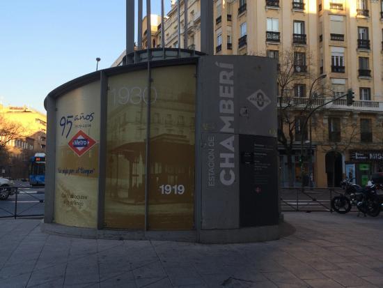 Entrada museo Anden 0 Madrid