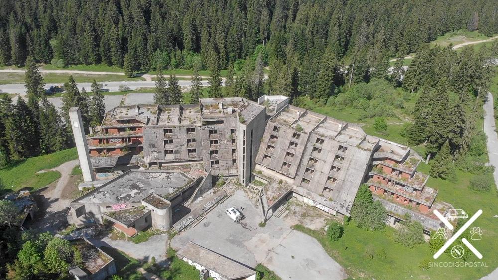 Hotel de las olimpiadas abandonado Sarajevo
