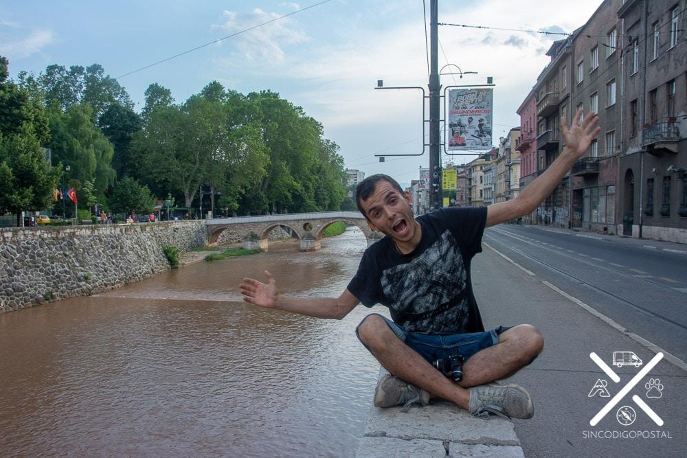 Latin Bridge o Puente de Princip en Sarajevo