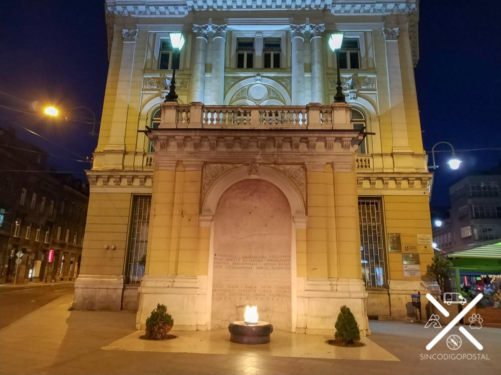 Llama eterna de Sarajevo
