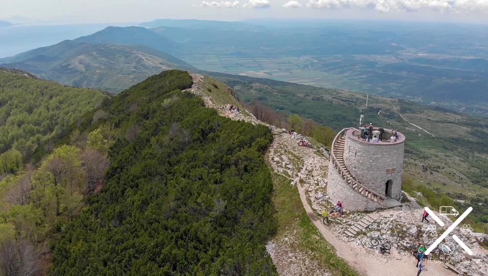 Torre del Parque Natural de Ucka