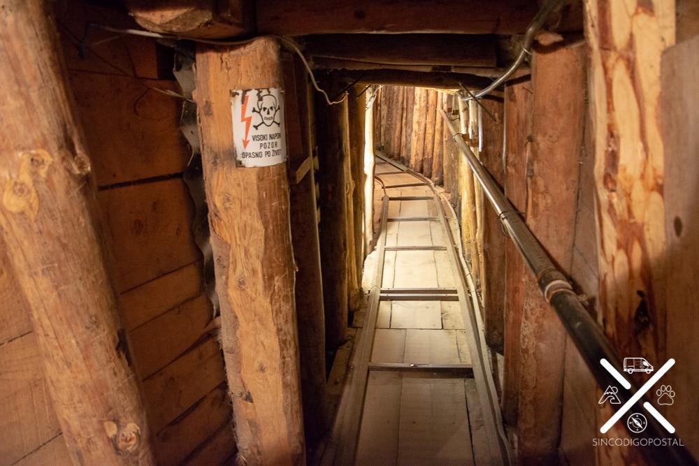Túnel de la esperanza en Sarajevo
