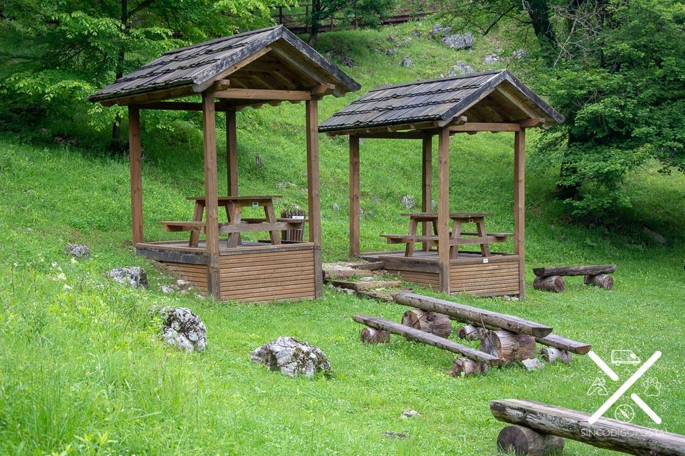 Zona de Picnic en las Cascadas Strbacki buk