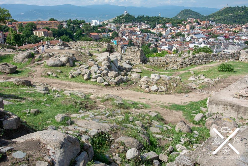 Antiguo asentamiento en Plovdiv