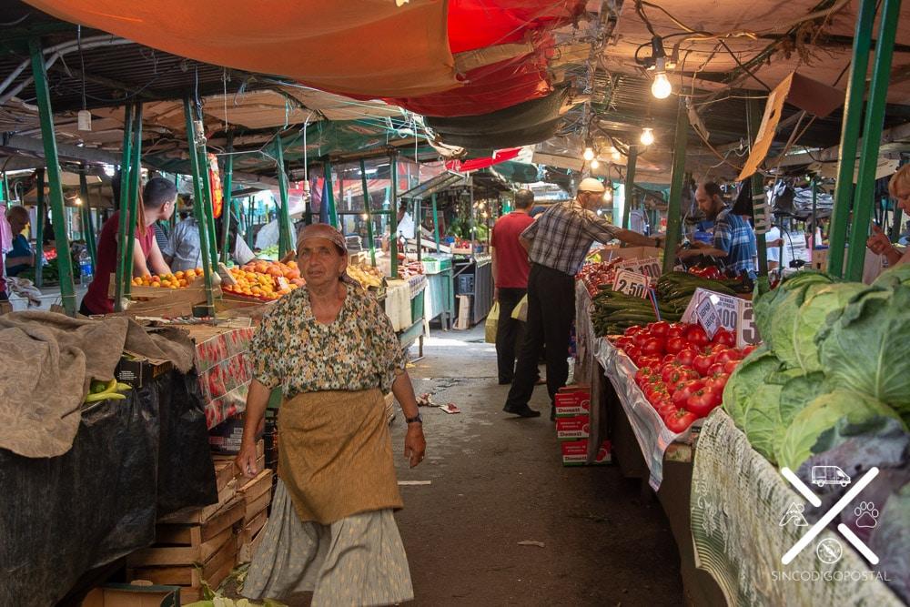 Bazar de Skopje cubierto