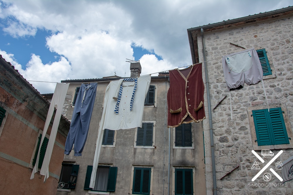 Calles mágicas de Kotor