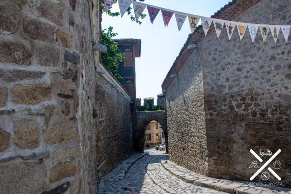 Casco medieval de Plovdiv