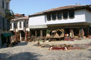 Cascos viejo de Plovdiv
