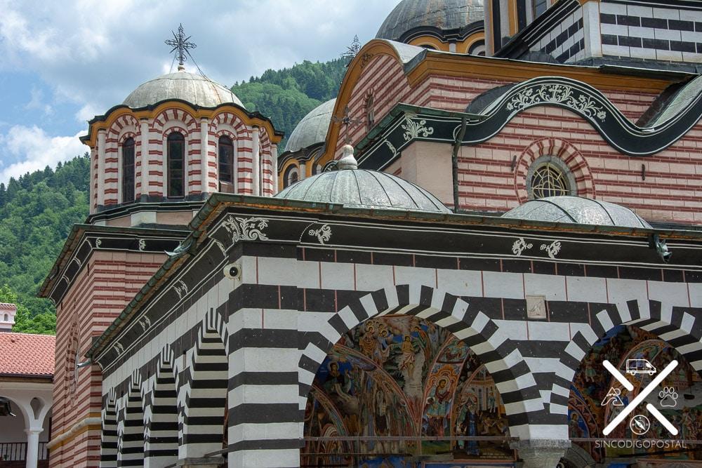 Cúpulas Ortodoxas del Monasterio