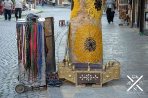 Detalles de Prizren, un zapatero