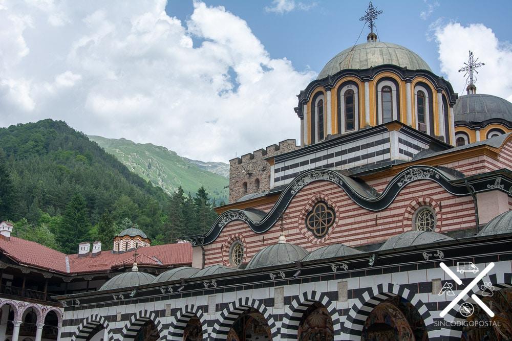 Fachada Monasteri de Rila
