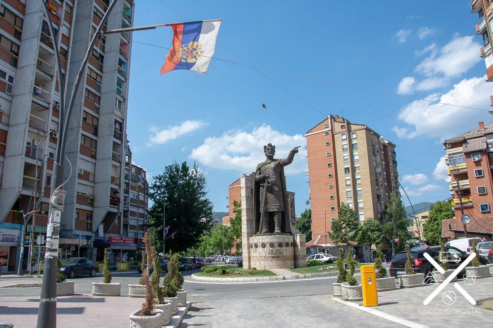 Mitrovica, parte Serbia dentro de Kosovo