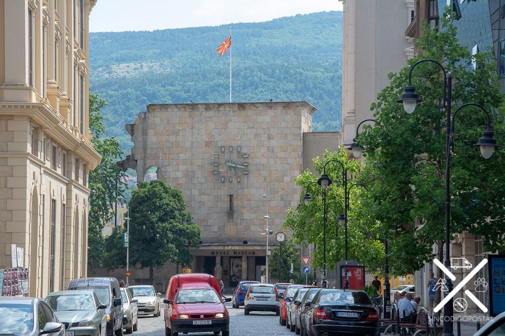 Museo del terremoto de Skopje