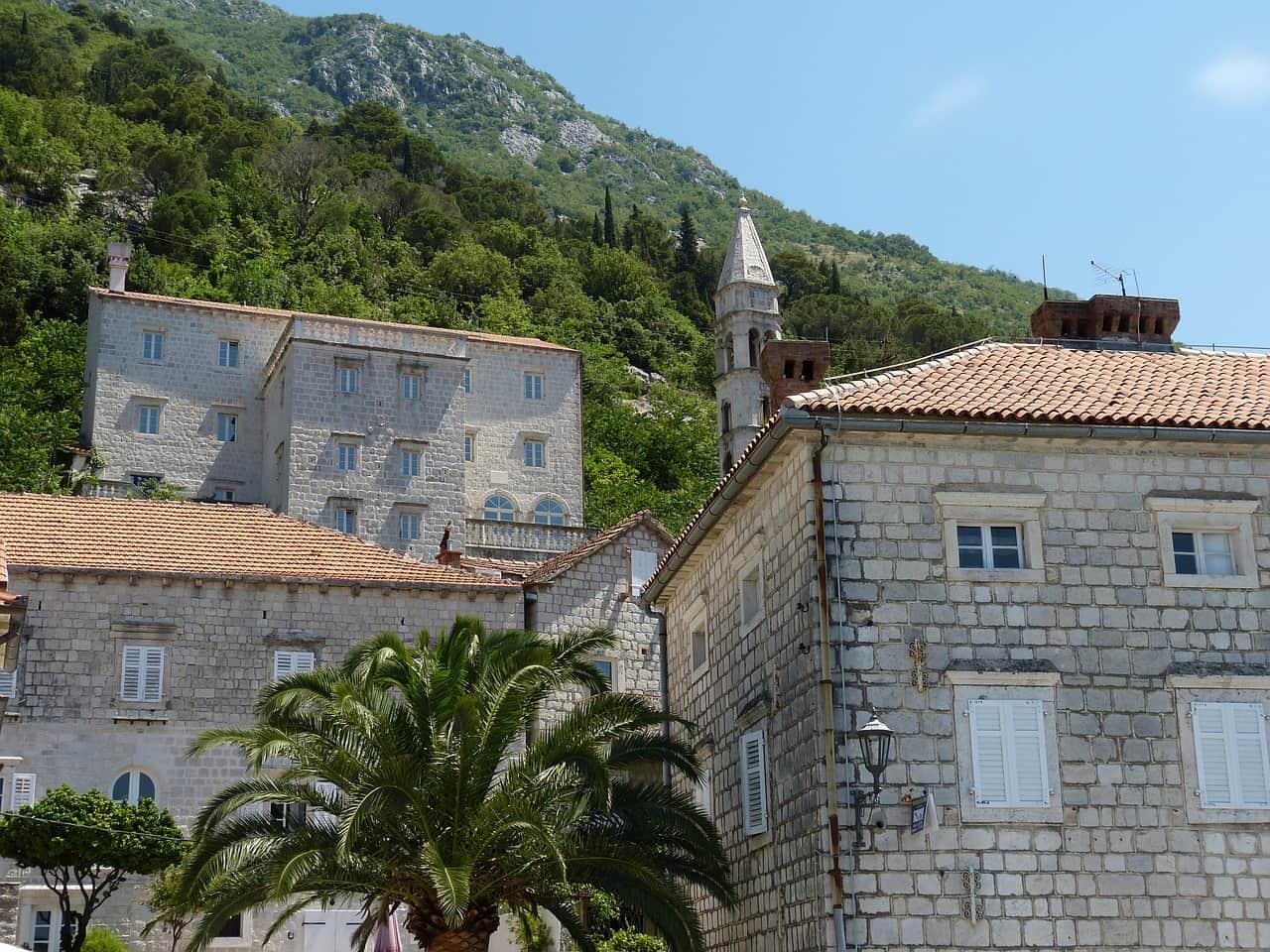 Perast, pueblo cerca de Kotor