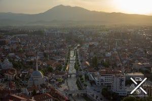 Preciosa vista de Prizren desde su fortaleza