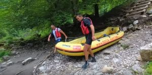 Rafting en Río Tara