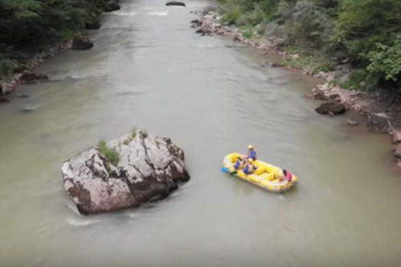 Rafting por el Río Tara, más que recomendable!