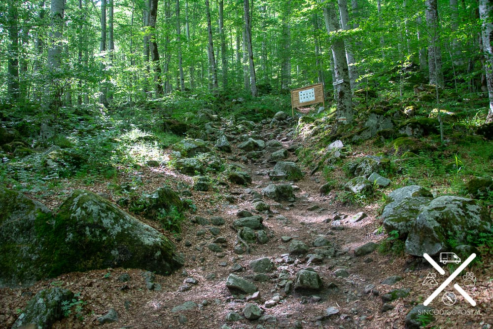 Ruta a la cueva del ermitaño