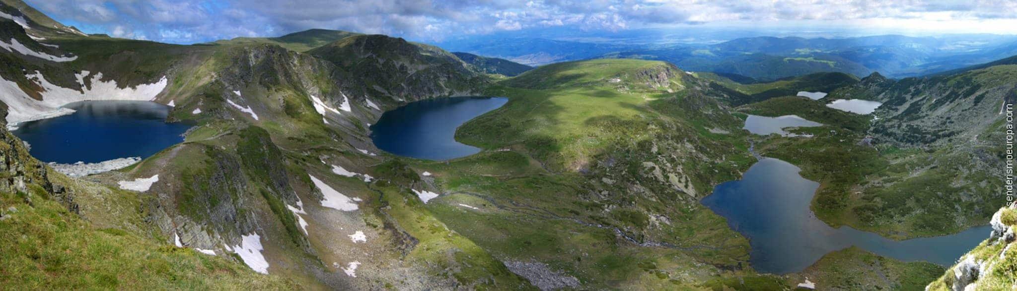 Siete Lagos de Parque Natural de Rila en Bulgaria